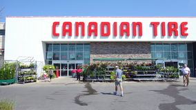 Canadian Tire Store Stock Photography