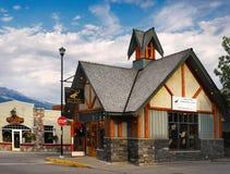 Canadian Town of Jasper Stock Photos