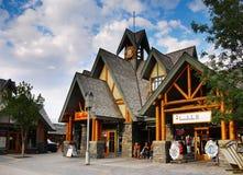 Canadian Town of Jasper Stock Photo