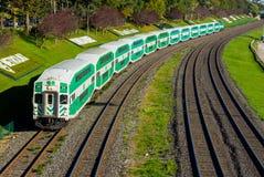 Canadian Train Stock Photo