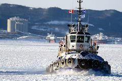 Canadian tug Royalty Free Stock Photos