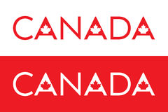 Canadian Type Royalty Free Stock Photos