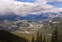 Canadian valley Royalty Free Stock Photo