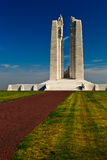 Canadian war memorial monument. Royalty Free Stock Images