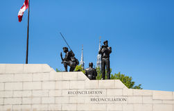 Canadian War Memorial in Ottawa Ontario Canada Royalty Free Stock Photo