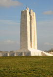 Canadian war memorial, Vimy Ridge, Belgium. Royalty Free Stock Image