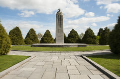 Canadian war monument Royalty Free Stock Photos