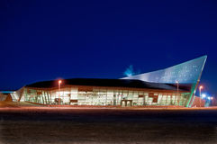 Canadian War Museum by Night Stock Photography