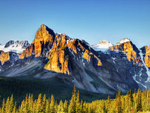 Canadian Wilderness, Banff national Park Royalty Free Stock Image