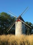 Canadian windmills Stock Photo