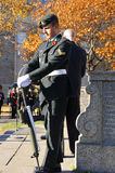 Canadians soldiers. MONTREAL CANADA NOVEMBER 6 :Canadians soldiers in uniform for the remembrance Day on November 6, 2011, Montreal, Canada.The day was dedicated Royalty Free Stock Photography