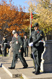 Canadians soldiers. MONTREAL CANADA NOVEMBER 6 :Canadians soldiers in uniform for the remembrance Day on November 6, 2011, Montreal, Canada.The day was dedicated Stock Images