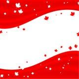Canadien de fond Image libre de droits