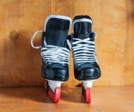 Canadien hockey skates Royalty Free Stock Photo
