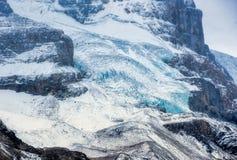 Canadien les Rocheuses - glacier de champs de glace Image stock