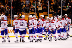 Canadiens Win! Royalty Free Stock Image