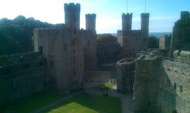 Canaervon castle Stock Photo