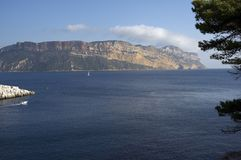 Canaille cape. France Royalty Free Stock Image