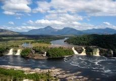 Canaima国家公园委内瑞拉 图库摄影
