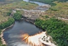 Canaima河在委内瑞拉 免版税库存图片
