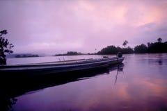 Canaima au crépuscule Photographie stock libre de droits
