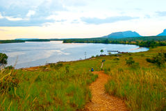 Canaima. Carrao River view in Canaima National Park in Venezuela Stock Photos