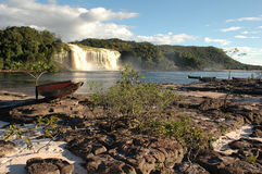Canaima Lagoon Royalty Free Stock Images