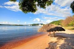 Canaima Lagune, Venezuela lizenzfreies stockbild