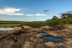 Canaima nationalpark, Venezuela arkivbild