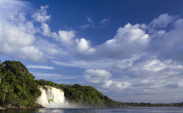 Canaima Waterfalls. Canaima National Park region of Venezuela Stock Photos