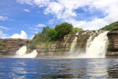 canaimanationalparkvattenfall Arkivfoton
