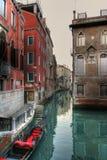 Canais 2 de Veneza Fotos de Stock Royalty Free