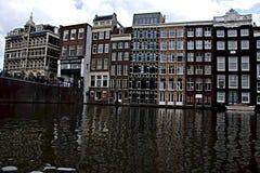 Canais 29 de Amsterdão Imagens de Stock Royalty Free