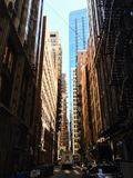 Canais de Chicago, Illinois, EUA Foto de Stock