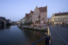 Canais de Ghent imagem de stock