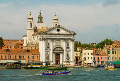 Canais de Veneza Itália Fotografia de Stock
