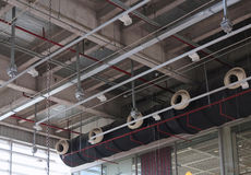 Canais de ventilação Imagem de Stock