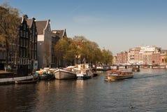 Canais em Amsterdão Imagem de Stock Royalty Free