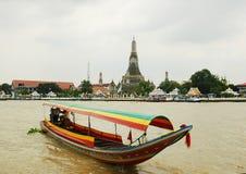 Canais em Banguecoque. Fotos de Stock Royalty Free