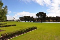 Canais: Mandurah, Austrália Ocidental imagem de stock