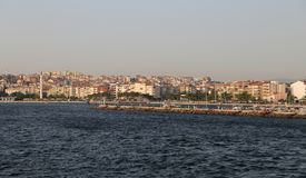 Canakkale City in Turkey. Canakkale City and Canakkale Strait in Turkey Stock Photography