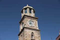 Canakkale Clock Tower. In Canakkale City, Turkey Royalty Free Stock Photography