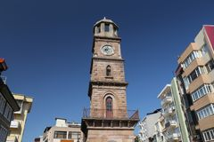 Canakkale Clock Tower. In Canakkale City, Turkey Stock Photos