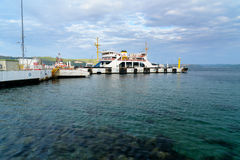 Canakkale ferry pier in the morning. Turkey Stock Photos