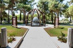 Canakkale martelt Herdenkings militaire begraafplaats in Canakkale royalty-vrije stock fotografie
