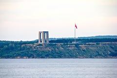 Canakkale Martyrs Denkmal stockfotos