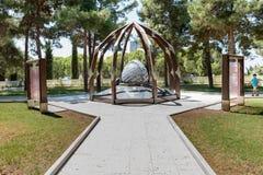 Canakkale Martyrs el cementerio militar conmemorativo en Canakkale imagen de archivo libre de regalías