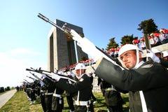 Canakkale Martyrs el monumento Foto de archivo