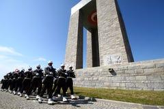 Canakkale Martyrs el monumento Foto de archivo libre de regalías