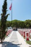 Canakkale Martyrs le cimetière militaire commémoratif dans Canakkale photographie stock